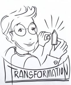 Schulterblick in die Transformation